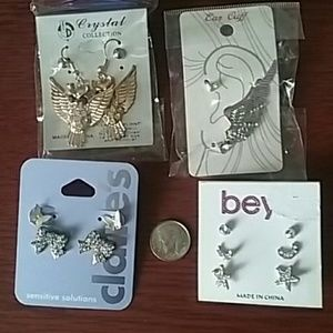 Accessory lot earrings lot new and used